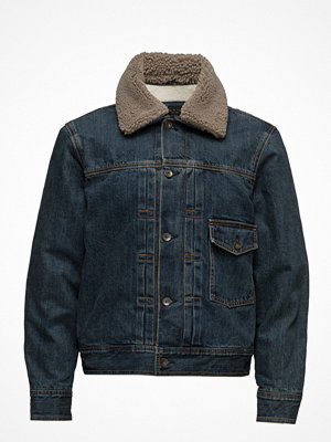 Jeansjackor - Rag & Bone Bartack Jacket W/ Sherpa