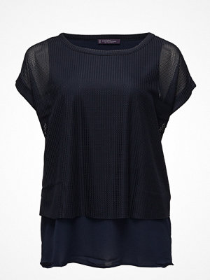 Violeta by Mango Mixed Laser-Cut T-Shirt