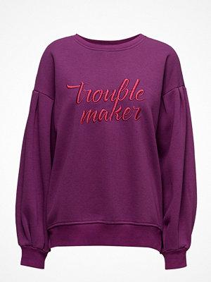 Mango Metallic Message Sweatshirt