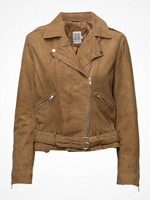 Saint Tropez Suede Biker Jacket