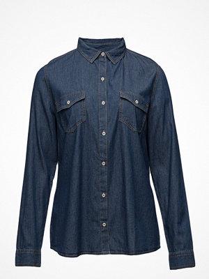 Violeta by Mango Chest-Pocket Denim Shirt