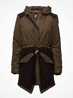 Parkasjackor - Scotch & Soda Winter Parka With Detachable Hood