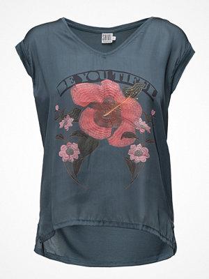 Saint Tropez T-Shirt W. Flower Print