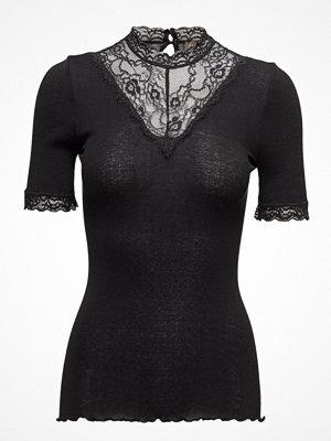 Rosemunde Silk T-Shirt Regular Ss W/ Lace