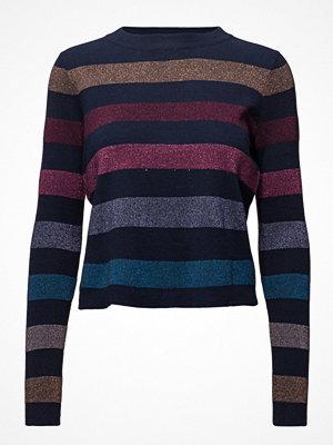 Mango Striped Cotton Sweater