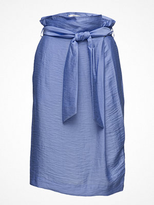 Mango Bow Satin Skirt