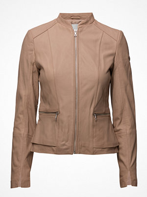 Mango Pocket Leather Jacket