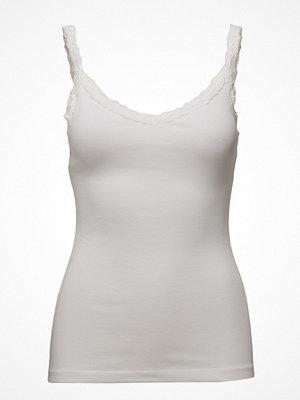 Linnen - Mango Lace Strap T-Shirt