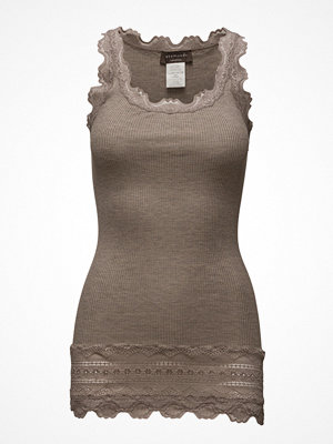 Linnen - Rosemunde Silk Top Medium W/Wide Lace