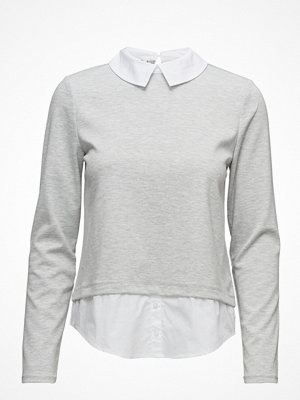Only Onlcally L/S Collar Top Jrs