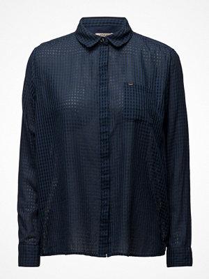 Skjortor - Lee Jeans Plain Shirt Deep Indigo