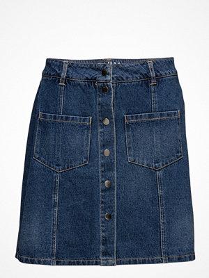Only Onlfie Reg Button Dnm Skirt Bj9983