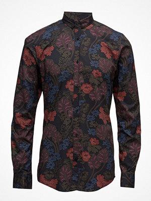 Skjortor - Scotch & Soda Classic Shirt In Cotton/Elastane Quality With Fixed Collar