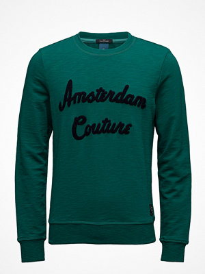 Tröjor & cardigans - Scotch & Soda Classic Crewneck Sweat With Towelling Logo Artwork