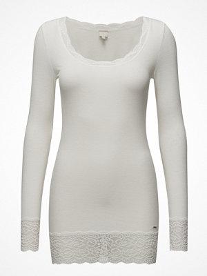 Cream Vanessa L/S T-Shirt
