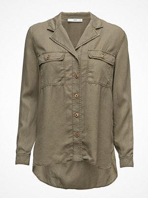 Skjortor - Mango Chest-Pocket Soft Shirt