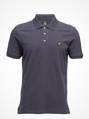 Pikétröjor - Lyle & Scott Plain Pick Stitch Polo Shirt