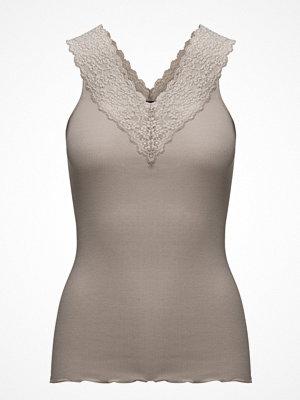 Linnen - Rosemunde Silk Top Regular W/ Lace