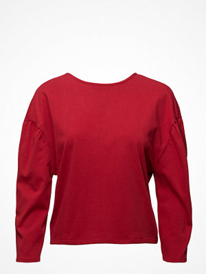 Mango Puffed-Shoulder Sweatshirt