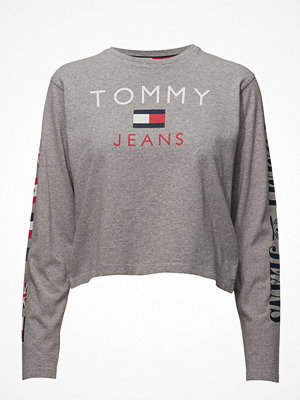 Toppar - Tommy Jeans Tjw 90s Cn T-Shirt L/S W30