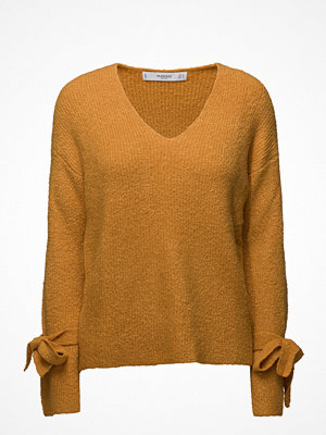 Mango Bow Textured Sweater