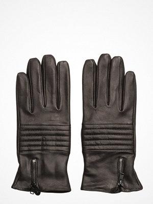 Handskar & vantar - Selected Homme Shdnew Biker Leather Glove