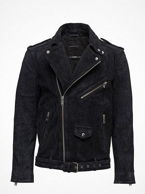 Skinnjackor - Selected Homme Shxnico Suede Leather Jacket