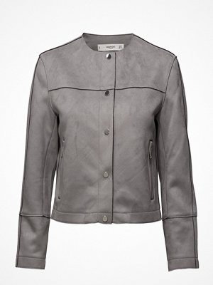 Mango Suede Effect Jacket
