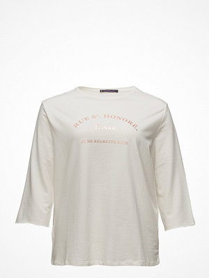Violeta by Mango Message Cotton T-Shirt