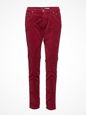 Please Jeans mörkröda byxor Nc Vel.