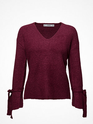Mango Bow Textured Sweater