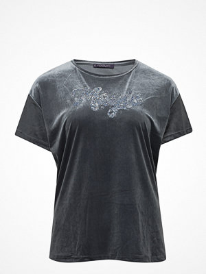 Violeta by Mango Velvet Message T-Shirt