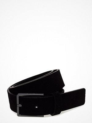 Calvin Klein Slim Suede Belt, 001