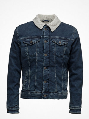 Jeansjackor - Selected Homme Shxteddy Blue Denim Jacket