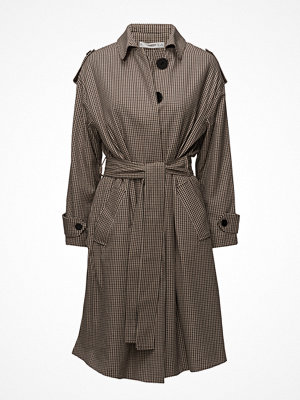 Trenchcoats - Mango Houndstooth Trench