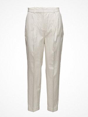 Mango randiga byxor Chalk-Stripe Trousers