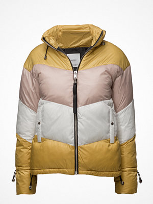 Mango Tricolor Quilted Jacket
