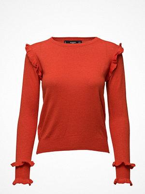 Mango Ruffled Cotton Sweater