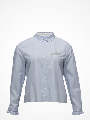 Violeta by Mango Message Cotton Shirt