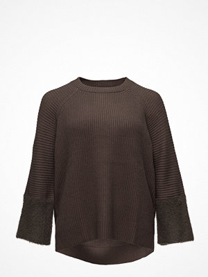 Violeta by Mango Texture Sleeve Sweater