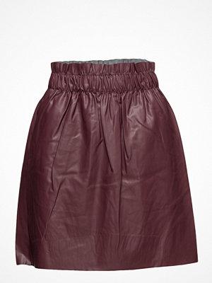 Only Onltinka Short Pu Skirt Wvn