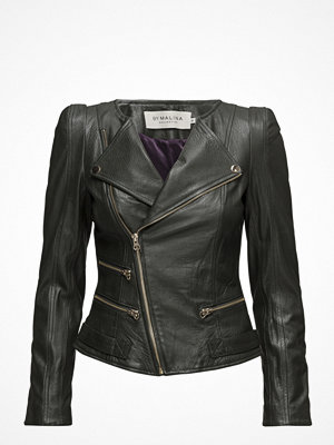 By Malina Jade Grained Leather Jacket