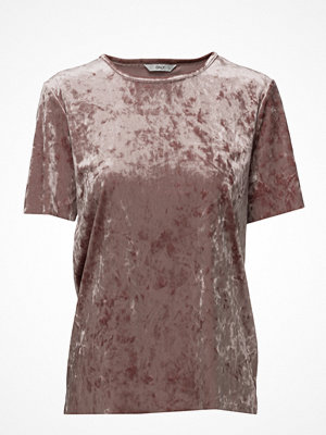 Only Onlpunti Velour S/S Top Jrs