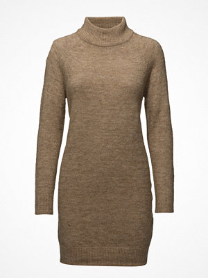 Only Onlmeredith Highneck L/S Dress Knt Noos