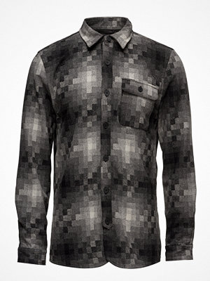 Native North Pixels Wool Overshirt