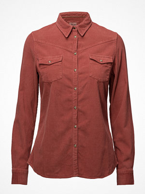 Wrangler L/S Corduroy Shirt Canyon Rose