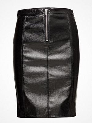 Only Onlann Faux Leather Midi Skirt Otw