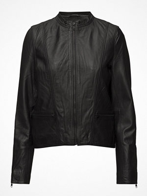 Selected Femme Slfhannah Leather Jacket Noos