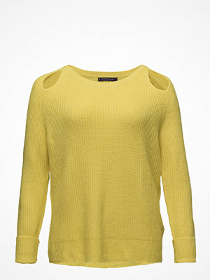 Violeta by Mango Side Slit Wool Sweater