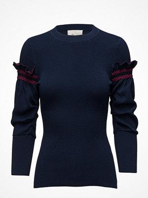 3.1 Phillip Lim Crewneck Pullover W Ruffle Sleeve